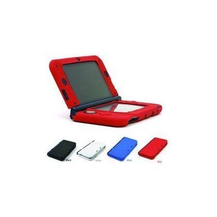 Protector silicona antigolpes new 3DS xl ( Blanco )