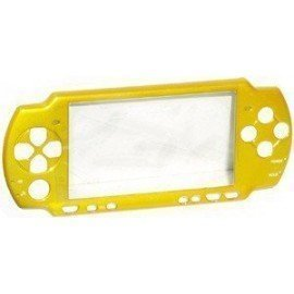 Carcasa delantera PSP 2000  - Amarilla