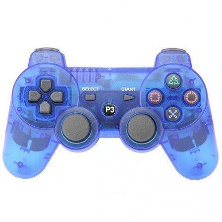 Mando inalámbrico PS3 - Cristal BLUE