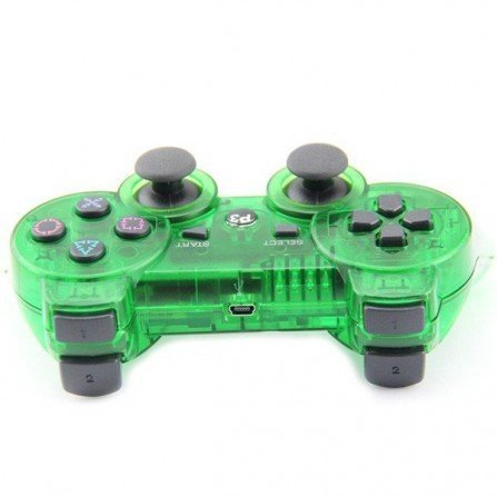 Mando inalámbrico PS3 - Cristal GREEN