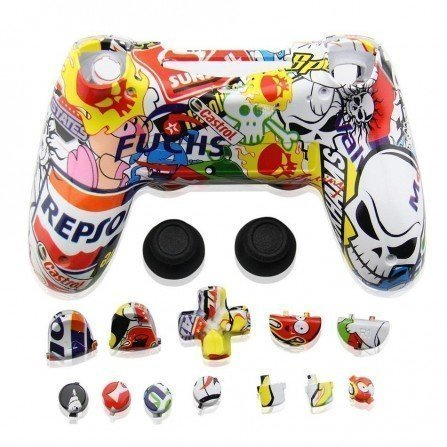 Carcasa mando DualShock 4 PS4 V1 - RACING