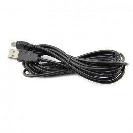 Cable USB Carga mandos PS4 (3 metros)