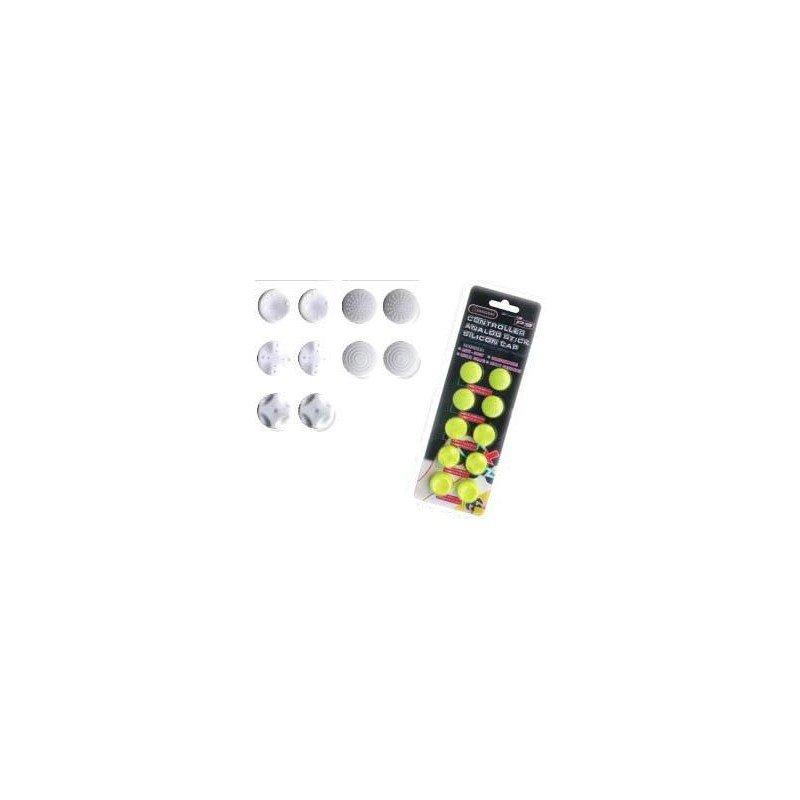 Analog Stick silicon caps PS3/PS4/XBOX360 - Amarillo Fluorescente -