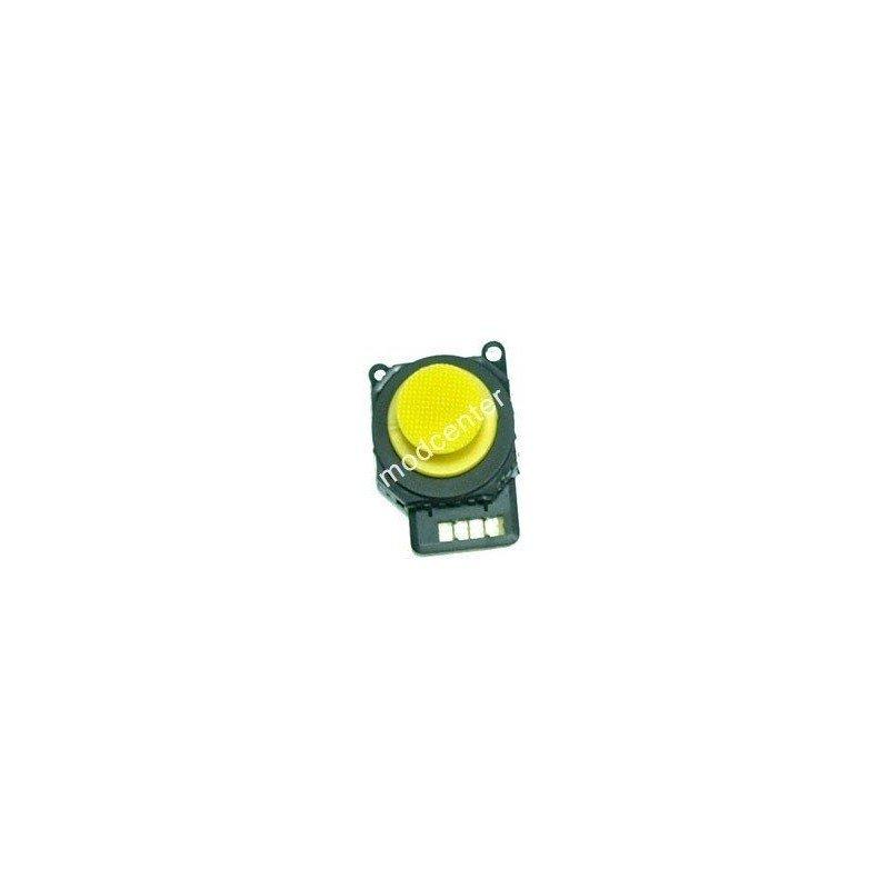 Joystick analógico completo + Capuchón PSP 2000 ( Amarillo )