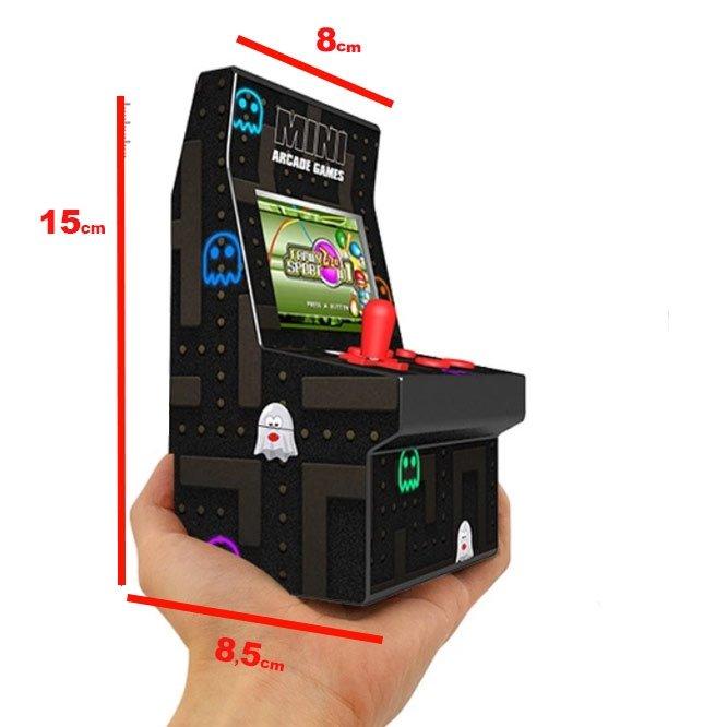 maquina arcade juegos portatil