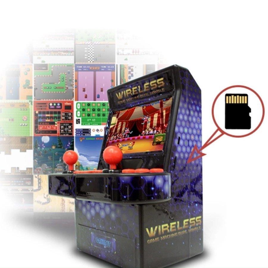 consola arcade ampliable micro SD