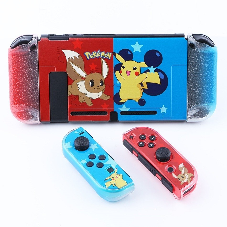 funda protectora nintendo switch pokemon