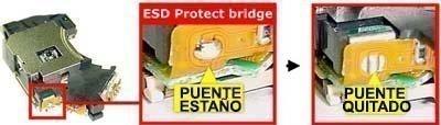 puente proteccion lente ps2